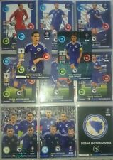 Set 11 Cards Bosna Bosnia Adrenalyn XL Road To UEFA Euro 2016 France Line Nordic