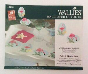 Wallies Wallpaper Cutouts 25 X Flamingos Wall Decal Furniture Decoupage