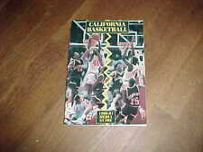 1990 California Golden Bears Basketball Media Guide