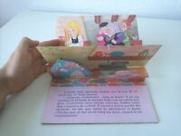 1980 Libro Animado Pop-Up, La Cenicienta, Editorial Roma