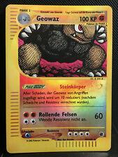 Holo Rare DE! Near Mint Alola-Geowaz Stunde Der Wächter 42//145 Pokemon!