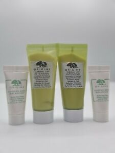 Origins Checks & Frothy Face Wash & Drink Up Intensive Avocado Mask Mini Size