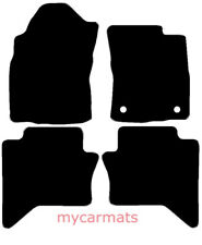Toyota Hilux Double Cab (2016-Now) New Tailored Car Floor Mats Heavy Duty Rubber
