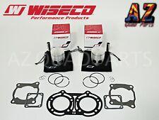 Yamaha Banshee YFZ 350 64.75mm Wiseco Pro Lite Pistons Piston Set & Gaskets Kit