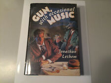 Jonathan Lethem SIGNED 1st ed! GUN WITH OCCASIONAL MUSIC fine in dw 1994 Scarce!