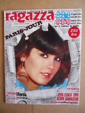 RAGAZZA IN Fotoromanzo  n°1 1978 con Katiuscia Ezio Miani Emanuela Sala  [G595]