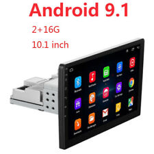 2+16G 10 inch Android 9.1 WiFi 1 DIN Car Radio Stereo DVD Player GPS Navigation