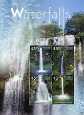 Canouan Gren St Vincent 2015 MNH Waterfalls Mina Falls Puerto Rico 4v M/S Stamps