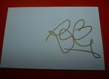 ROCHELLE HUMES SIGNED 6X4 WHITE CARD POP MUSIC AUTOGRAPH THE SATURDAYS