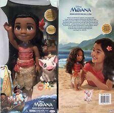 Disney Princess Tea Time with Moana & Pua +Bracelet & Anklet Set GENUINE - NEW!