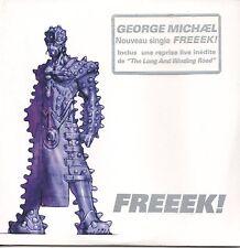 ★☆★ CD SINGLE George MICHAEL Freeek 3-track CARD SLEEVE NEW     ★☆★