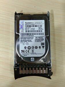 """IBM 81Y9727 81Y9726 81Y3857 500GB 7.2K 6Gbps SFF 2.5"""" SATA NL HARD DRIVE"""