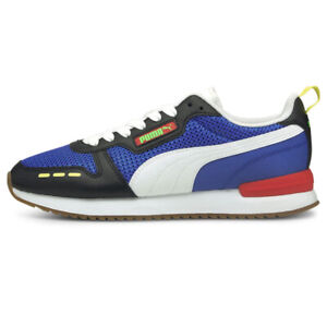 PUMA Herren Sportschuhe R78 Rs-X Gymnastik Lifestyle Schwarz Blau Runner Sneaker
