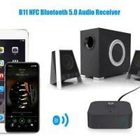 HD Bluetooth 5.0 Transmitter Receiver Audio Optical Wireless RCA Top Adapte Z7P6
