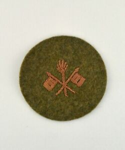 U.S. ARMY WWI SIGNAL CORPS PRIVATE PATCH --