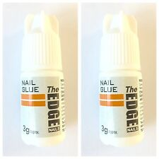 2 x The Edge Professional Nail Tip Strong GLUE 3g (anti-fungal)OFFICIAL STOCKIST