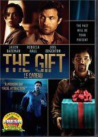 NEW DVD - THE GIFT - Jason Bateman, Rebecca Hall, Joel Edgerton, THRILLER