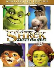 Shrek:The 4-Movie Collection(4-Blu-ray+Digital HD)NEW Anniversary Whole Story