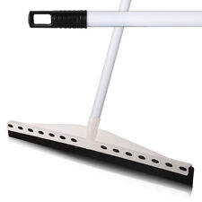 More details for 55cm professional floor squeegees strong metal handle cleaning tiles & hardfloor