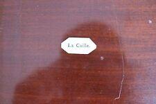 ✒ EX LIBRIS La Caille