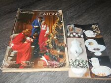 Eatons Canada 1975 Christmas Catalogue Toys Gifts Electronics