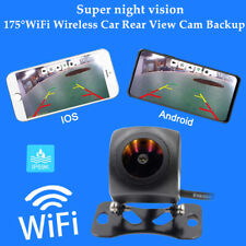 """175""""ïWiFi Wireless Car Rear View Cam Backup Reverse Camera iPhone Android Ios Kit"""