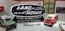 Land Rover Defender Series 200TDi Conversion Cast Tub Station Wagon Badge 90 110