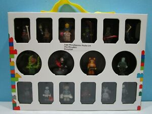 Lego ® Minifiguren komplette Serie 14 71010 Monsters  +  Lego Setzkasten + 1 Bpz