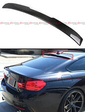 FOR 2014-18 BMW F36 4 SERIES GRAN COUPE CARBON FIBER REAR WINDOW ROOF SPOILER