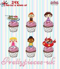 Little Einsteins 24 Stand-Up Pre-Cut Wafer Paper Cup cake Toppers