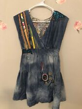 Desigual Denim Multicolor Dress Size 36