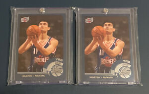 2002-03 Topps Chrome #146 Yao Ming RC ENGLISH VERSION X 2 W/ Cases Included 🙌