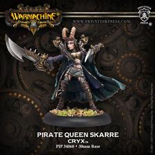 Warmachine: Cryx - Pirate Queen Skarre - Warcaster PIP 34068 NEW