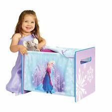 DISNEY FROZEN COSYTIME TOY BOX NEW OFFICIAL BEDROOM STORAGE