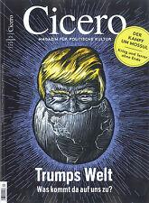 Cicero № 12 Dezember 2016 - Trumps Welt  +++ wie neu +++