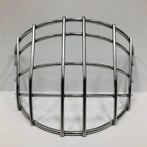 New Reebok 7K Hockey Goalie Replacement Cage Large Straight Bar mask ice helmet