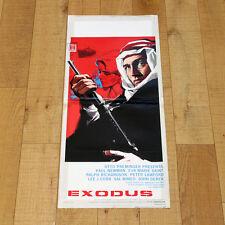 EXODUS locandina poster Paul Newman Eva Marie Saint Lawford Otto Preminger AB49
