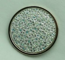 1 Bath Body Works BLING PEARL GEMS Magic in the Air Candle Lid Cap Large 3 Wick