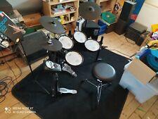 Roland TD-11KV Mega Paket Schlagzeug E-Drum mit Drum Mat, Fußmaschine und v.mehr