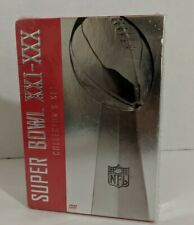Super Bowl XXI - XXX Collector's Set (DVD) Sealed! Brand New