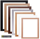 Modern Photo Frame Picture Poster Large Maxi Frames Black White Silver Oak Beech