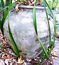 EX SHOWROOM THAI HAND MADE LARGE ATLANTIS OUTDOOR GARDEN POT URN 75 CM HIGH
