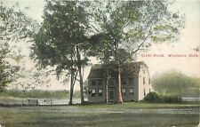 c1907 Vintage Postcard; Glebe House, Woodbury Ct Litchfield County, Posted