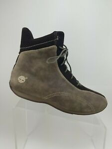 Timberland 25348-9127 Brown Leather Lace Up High Top Wrestling Boots Womens 11M