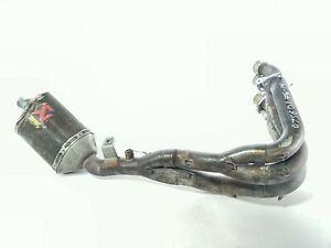 06-07 Suzuki GSXR 600 750 Aftermarket Full Exhaust AKRAPOVIC Muffler Header