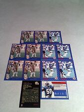 *****James West*****  Lot of 21 cards.....3 DIFFERENT / Football / CFL