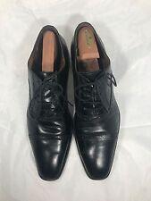 Donald J. Pliner Mens Sachar Black Leather Oxford Shoe Sz 11 M d12