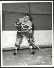 Original 1966 Nashville Dixie Flyers EHL Hockey Photo Wally Chase TOUGH!