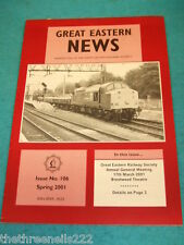 GREAT EASTERN NEWS #106 - SPRING 2001