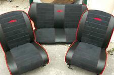 Tappezzeria Completa Di Sedili Gia Montati (strutture sedili)  Fiat 500